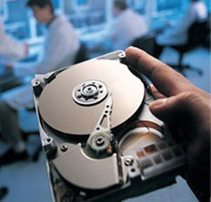 Typical hard disk drive for a PC