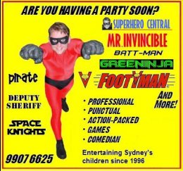 Superhero parties